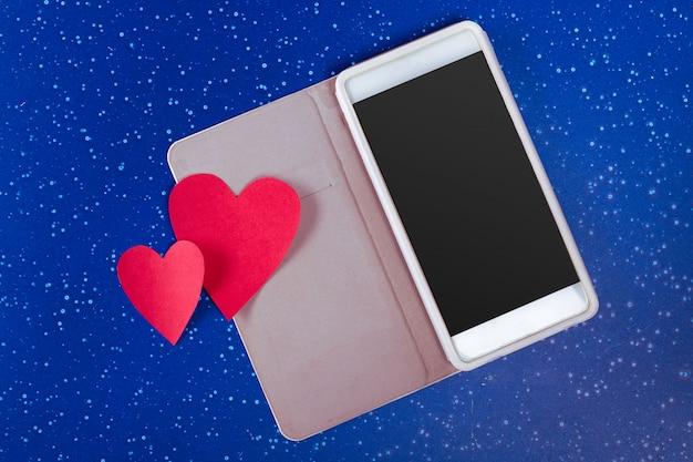Smartphone et coeur