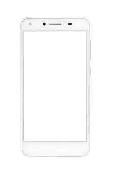 Smartphone, fond blanc