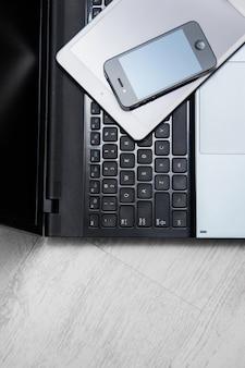 Smartphone, tablette et ordinateur portable