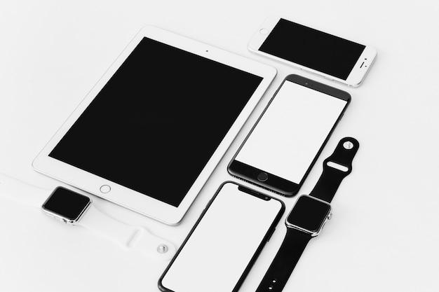 Smartphones, tablettes et smartwatches