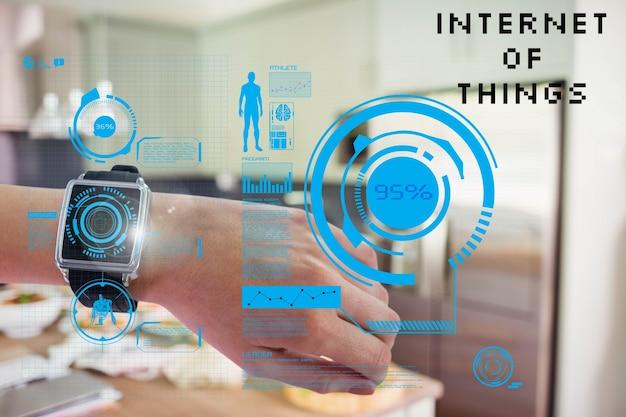 Smartwatch avec la réalité augmentée