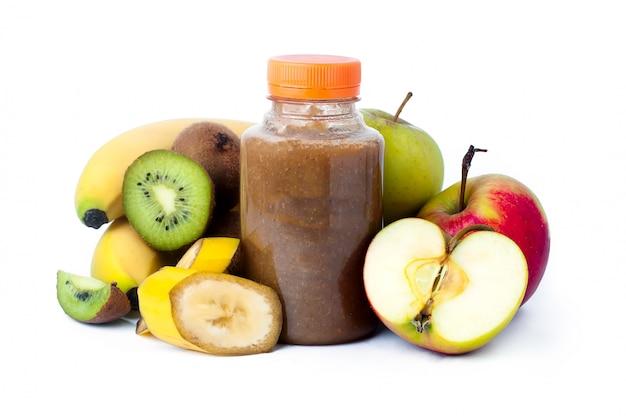 Smoothie aux fruits frais