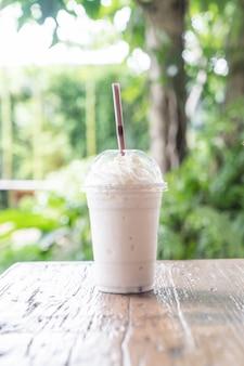 Smoothie milkshake à la vanille
