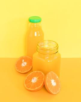 Smoothie orange nutritif