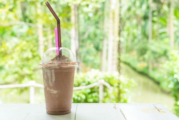 Smoothies au chocolat (milkshake)