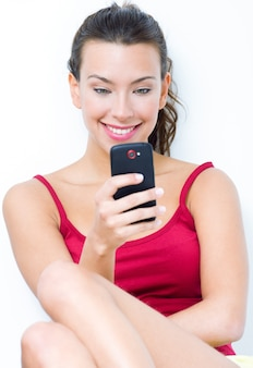 Sms texte mobile joie adulte