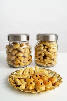Snack pour la tradition de l'aïd moubarak