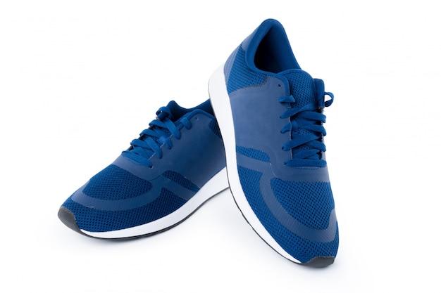 Sneakers isolés sur blanc