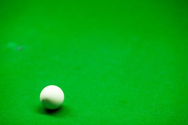 Snooker blanc.
