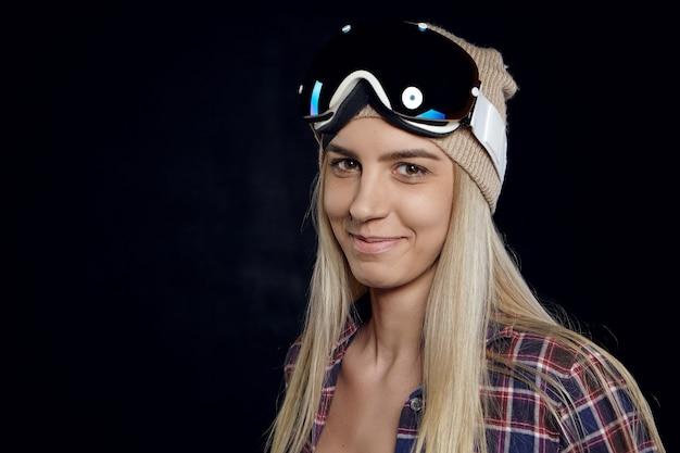 Snowboard, concept extrême et adrénaline.