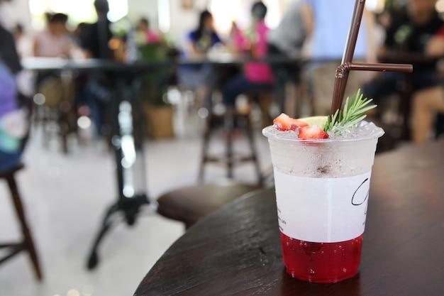 Soda à la fraise