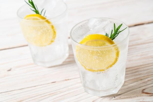 Soda à la limonade glacée