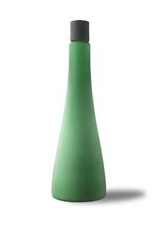 Soins du corps bouteille propres pour la publicité, isolé sur fond blanc.