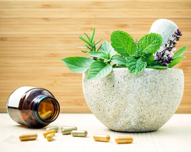 Soins de santé alternatifs et phytothérapie.