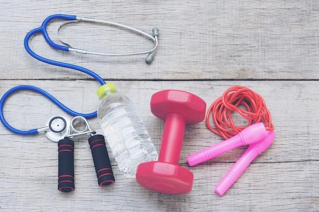 Soins de santé et d'entraînement.