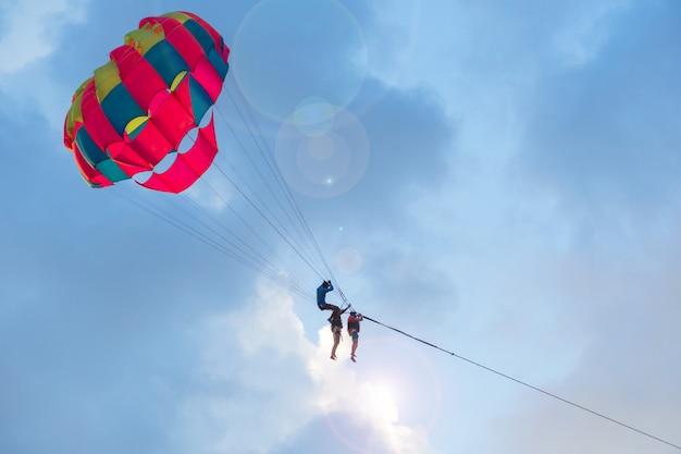Soirée parachute ascensionnel