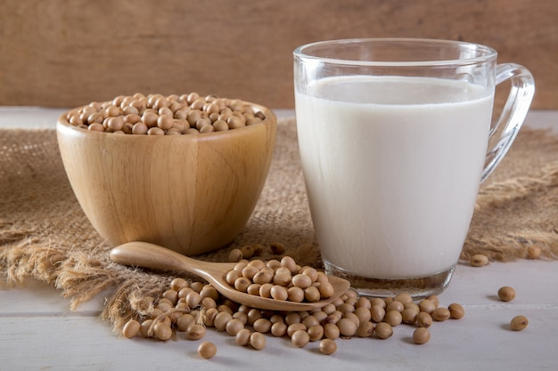 Soja et lait de soja