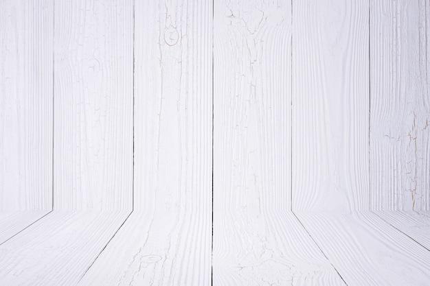 Sol et fond de bois blanc