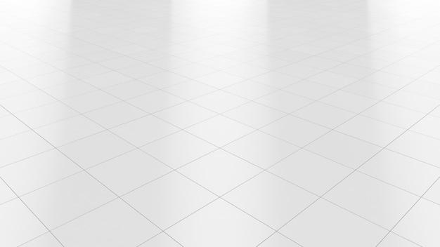 Sol en marbre blanc