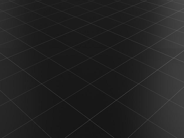 Sol en marbre noir carreaux de céramique propre texture de rendu 3d
