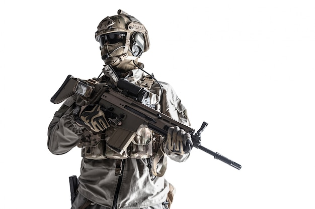 Soldat de l'armée des forces d'opérations spéciales