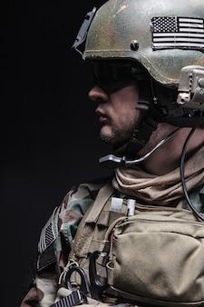 Soldat des bérets verts
