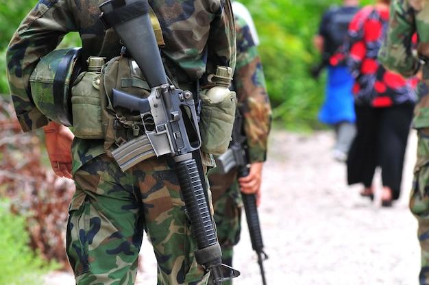 Soldat dans le domaine
