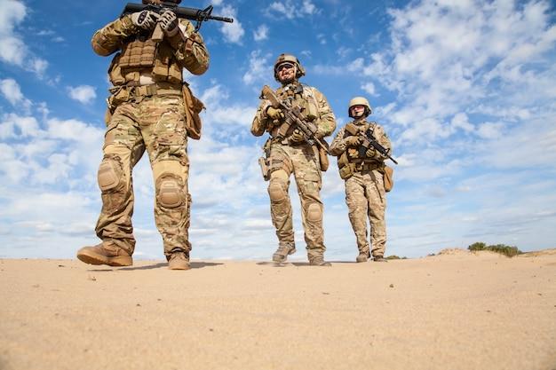 Soldats du groupe des forces spéciales de l'armée américaine