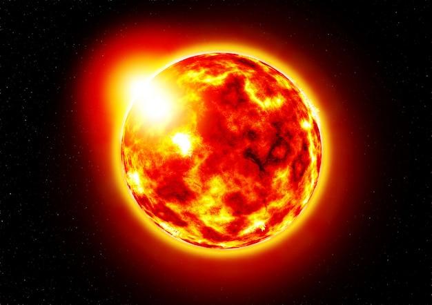 Le soleil.