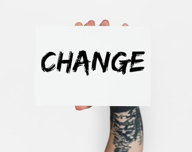 Solutions de motivation pour l'amélioration des choix de changement