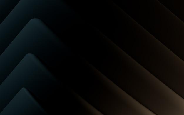 Sombre abstrait motif géométrique fond d'écran rendu 3d