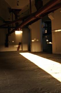 Sombre usine abandonnée