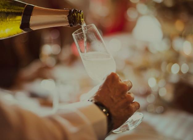 Sommelier wine expert service restaurant versing concept
