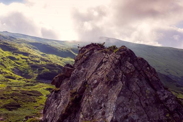 Sommet des montagnes
