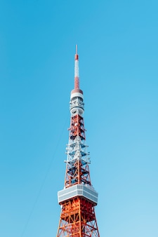 Sommet de la tour de tokyo