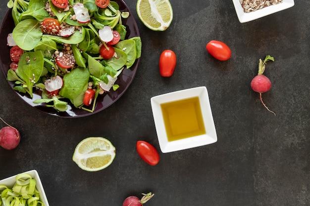 Souce pour salade fraîche