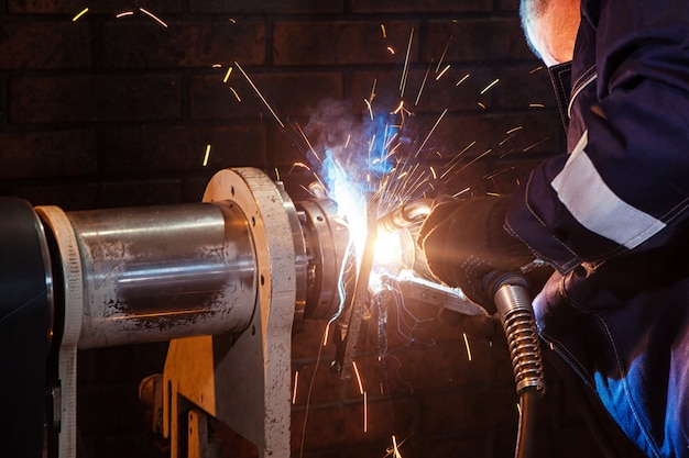 Soudage mécanique métal