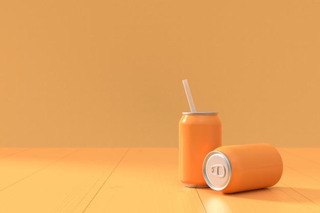 La soude orange peut mettre au point et copier de l'espace pour votre texte.