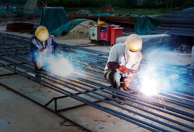 Soudeurs de chantier