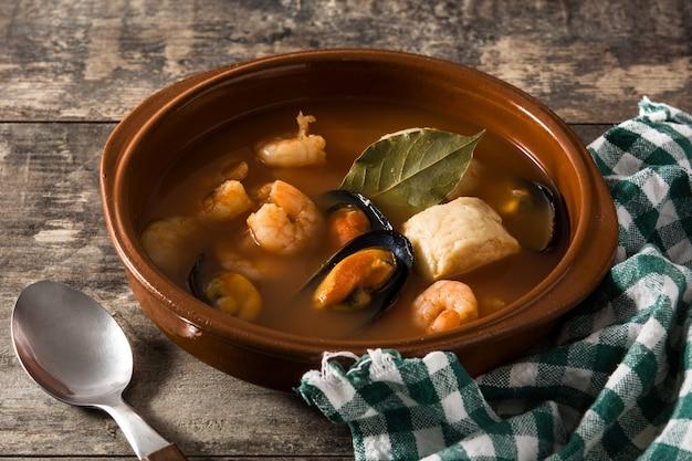 Soupe bouillabaisse française