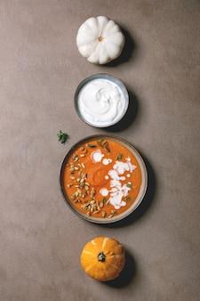 Soupe de potiron à la crème