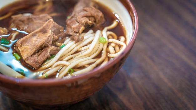 Soupe de ramen à la viande