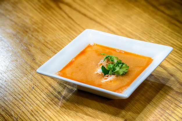Soupe tom yum kroong