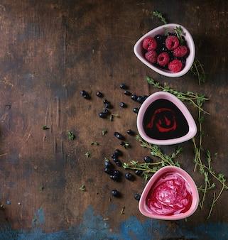 Soupes aux fruits rouges