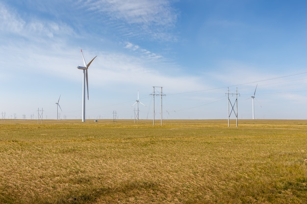 Source d'énergie éolienne en chine