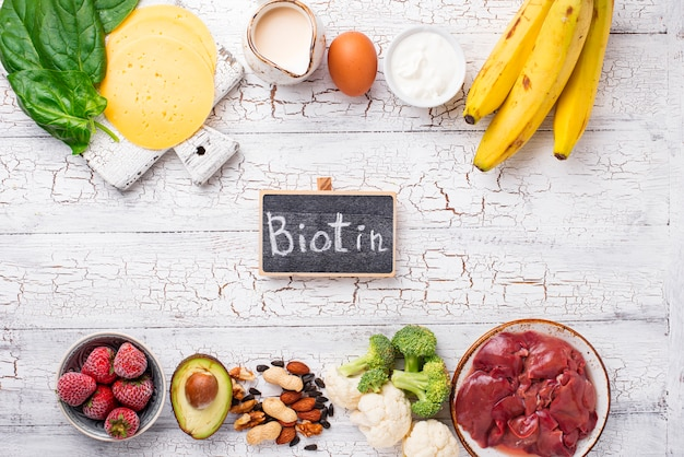Sources naturelles de vitamine b7 biotine