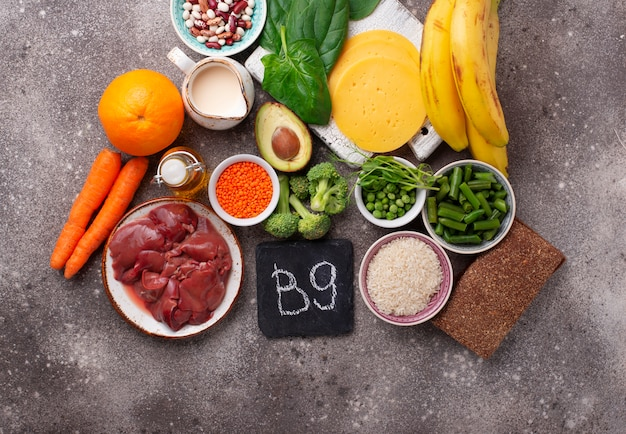 Sources naturelles de vitamine b9