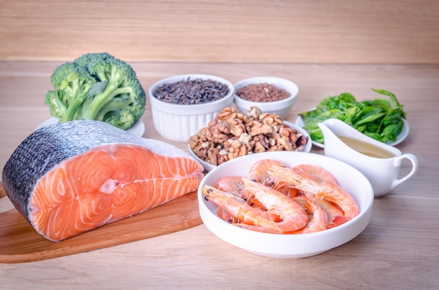 Sources végétales et animales d'acides oméga-3