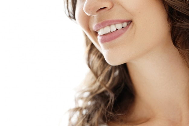 Sourire de belle femme