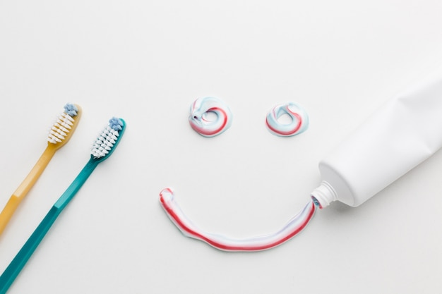Sourire de dentifrice